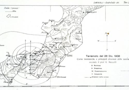 Scoperta nei fondali marini dello Stretto di Messina la faglia che provocò il terremoto del 1908