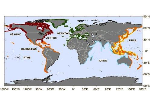 NEAMTHM18, online il primo modello di pericolosità da tsunami per il  Mar Mediterraneo, l'Atlantico Nord-orientale e i mari connessi
