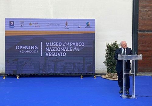 Inaugurato il Museo del Parco Nazionale del Vesuvio