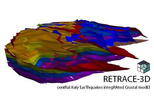 Con Retrace-3D una ricostruzione  Geologica Tridimensionale