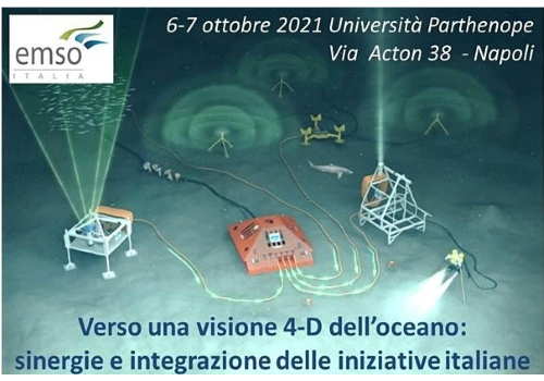EMSO Italia. Appuntamento a Napoli per una visione 4D dell'oceano