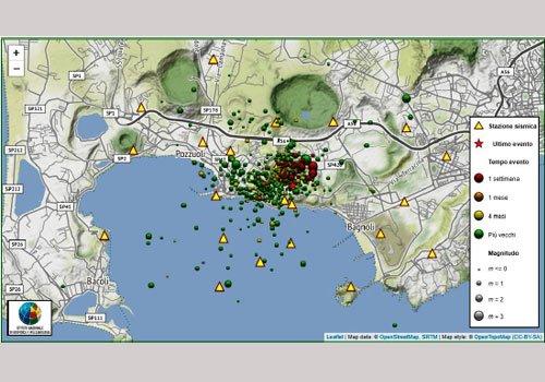 area flegrea-mappa